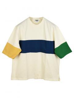 YMC Colourblock Mesh T-Shirt
