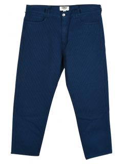 YMC Striped Slim-Fit Trousers