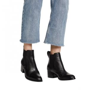 Rag & Bone Black Walker Ankle Boots