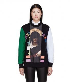 Givenchy American Dream Madonna Print Sweatshirt