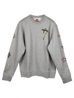Bella Freud Grey Trinidad Sweatshirt