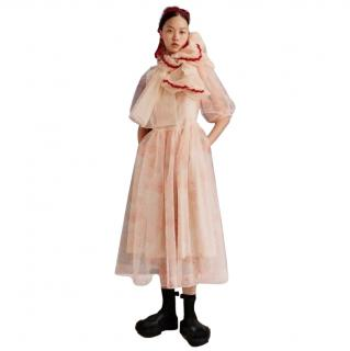 Simone Rocha x H&M Pink Chiffon Dress