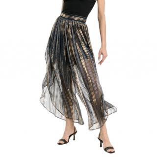 Peter Pilotto striped high-waisted harem pants