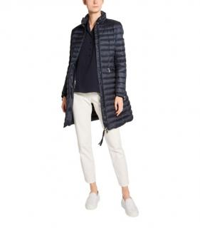 Moncler Goose Down Quilted Long Sable Coat