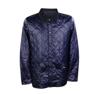Barbour Blue Liddesdale SMU Quilted Jacket