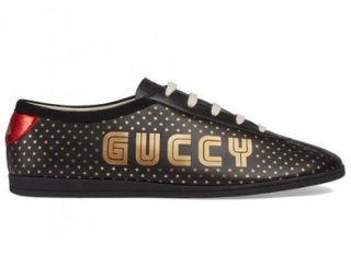 Gucci Leather Guccy Falacer Trainers