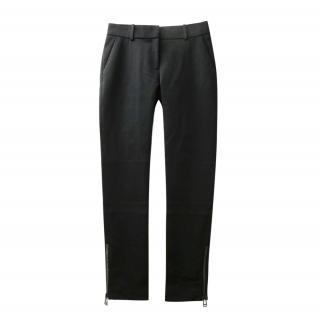 Belstaff Black Nylon Biker Pants