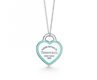 Tiffany & Co. Return to Tiffany Silver Tiffany Blue Heart Pendant