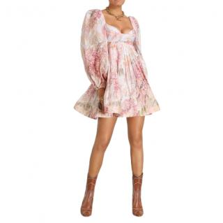 Zimmermann Botanica Bralette Mini Dress