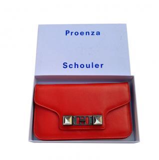 Proenza Schouler Red PS11 Chain Shoulder Bag