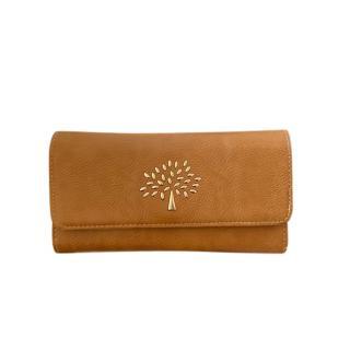 Mulberry Chestnut Leather Vintage Wallet