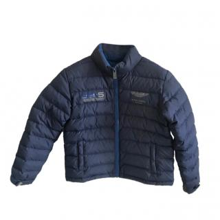 Aston Martin Racing Kid's 9-10Y Navy Quilted Jacket