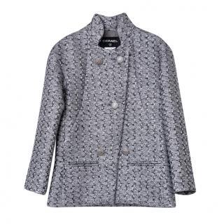 Chanel Metallic Tweed Ad Campaign Jacket