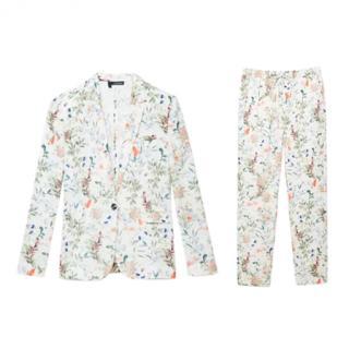 The Kooples Botanical Print Trouser Suit