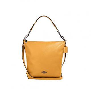 Coach Honey Leather Abby Duffle Bag