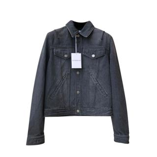 Givenchy Grey Classic Denim jacket