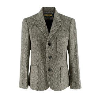 Ralph Lauren Rugby Herringbone Wool Tailored Jacket