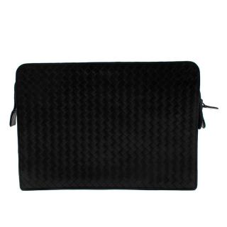 Bottega Veneta Intrecciato Leather Laptop/Document Bag