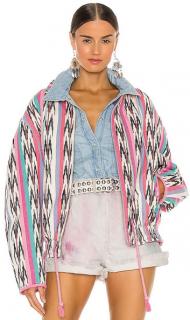Isabel Marant Etoile Iaustey Jacquard Cotton Jacket