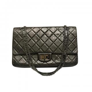 Chanel Grey Aged Calfskin Reissue 2.55 Bag