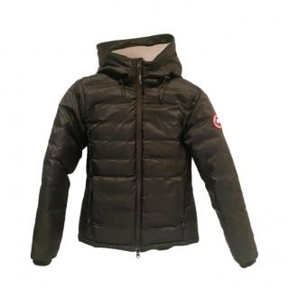 Canada Goose Black Camp Down Hooded Jacket
