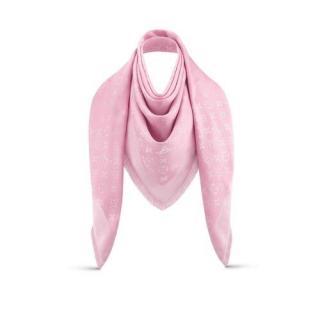Louis Vuitton Rose Ballerine Monogram Shawl