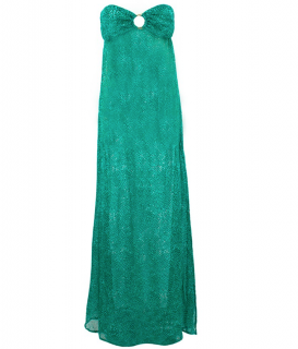 Melissa Odabash Silk Strapless Beach Dress