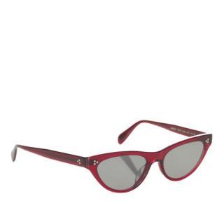 Oliver Peoples Purple Zasia Tinted Sunglasses