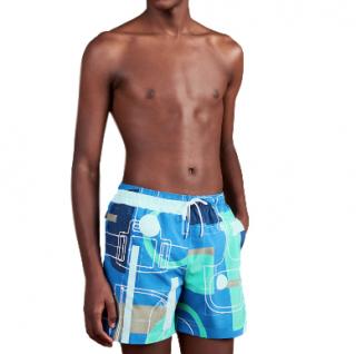 Hermes Etude Pour Un Carre Swim Trunks