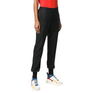 Stella McCartney Julia Black Wool Blend Trousers