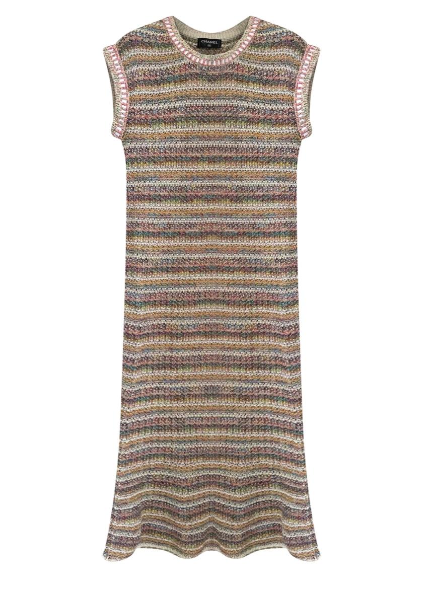 Chanel Cuba RUnway Multicolour Dress