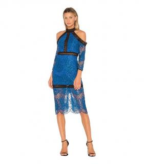 Alexis royal blue lace Julianna dress