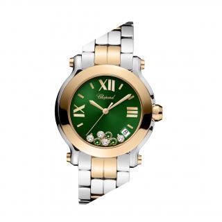 Chopard Steel/Rose Gold Happy Sport Watch - 1/5 Limited London Edition