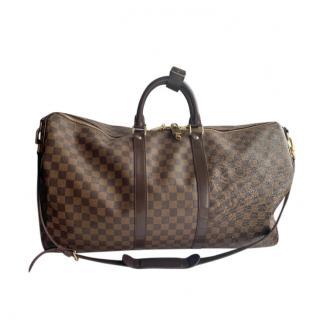 Louis Vuitton Damier Ebene Keepall 55