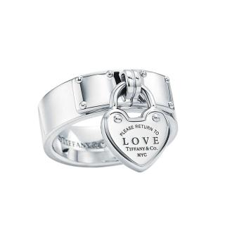 Tiffany & Co. Sterling Silver Return to Tiffany Love Lock Ring