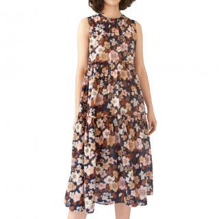 MiH Jeans Floral Print Mila Dress