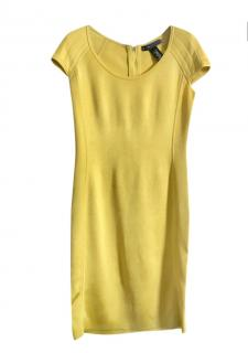 Ralph Lauren Black Label Yellow Stretch Dress
