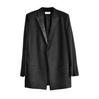 Saint Laurent Black Wool Tailored Jacket