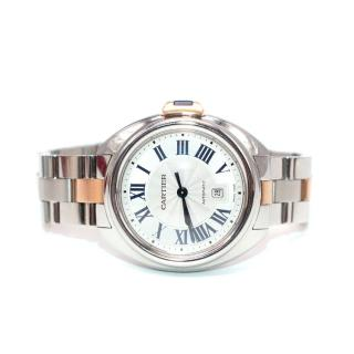 Cartier 18kt Rose Gold/Steel 32mm Cle de Cartier Watch