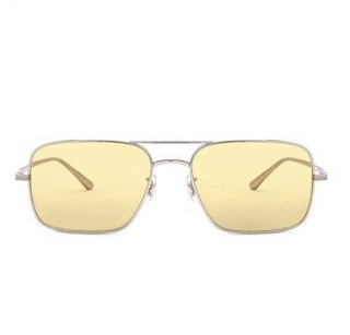 Oliver Peoples x The Row Victory LA Square Yellow Sunglasses