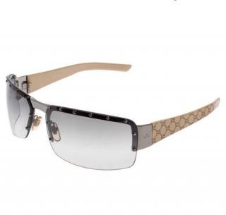 Gucci Studded Guccissima Sunglasses