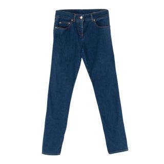 Alexander McQueen Blue Skinny Jeans