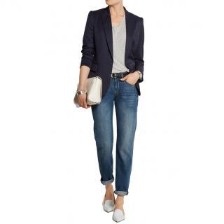 Stella McCartney Wool Navy Blazer