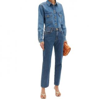 Blaze Milano Sapphire Blue Straight Leg Jeans