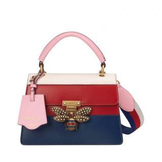 Gucci Colourblock Queen Margaret Top Handle Bag