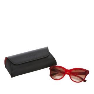 Valentino VA 4013 Red Sunglasses