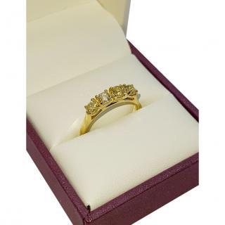 Bespoke 18ct Yellow Gold Yellow Diamond Ring