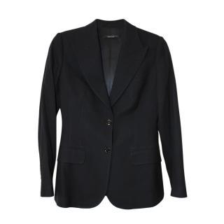 Dolce & Gabbana classic single breasted black wool/elastane blazer