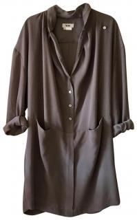 Acne Studios grey Babylon Shirt dress
