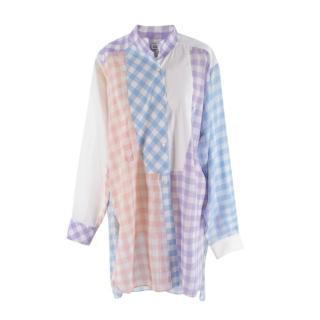 Loewe Multicolour Checked Oversized Shirt